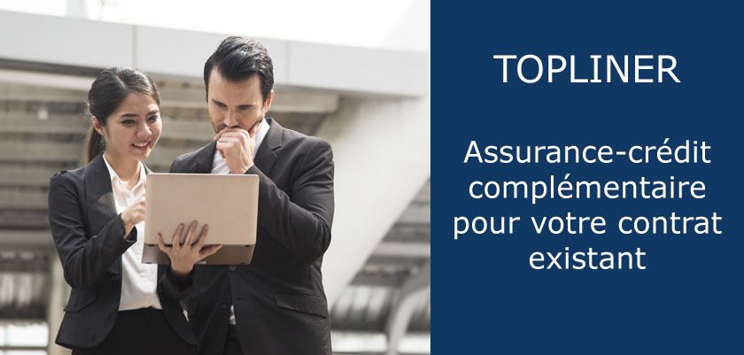 Couverture d'assurance-crédit Top-Up TopLiner