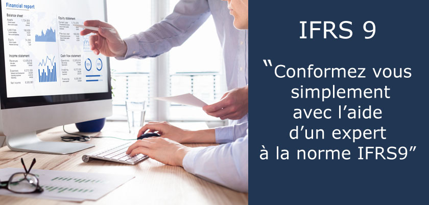 Application de la norme comptable IFRS9