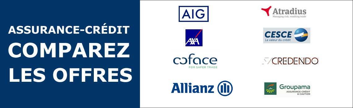 Comparatif des solutions d'assurance crédit pour les TPE, PME et grands comptes